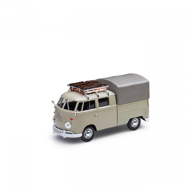 Original VW Modellauto T1 Pickup Plane Miniatur 1:24 Bus Bulli Typ 2 Beige 211099303AA11