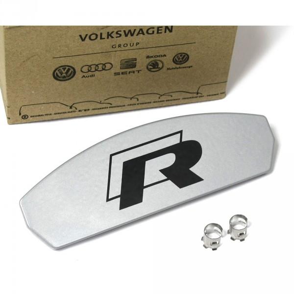 Original VW Golf 7 5G Reparatursatz Blende mit Emblem R-Line Vorderachse