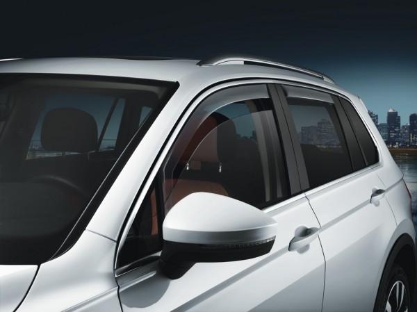 Windabweiser Türen vorn+hinten Original VW Tiguan Allspace Acrylglas rauchgrau 5NL072190