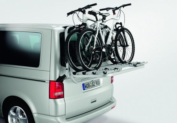 Schutzfolie Montageschutz Fahrradträger Radträger Heckträger VW Bus Bully T6