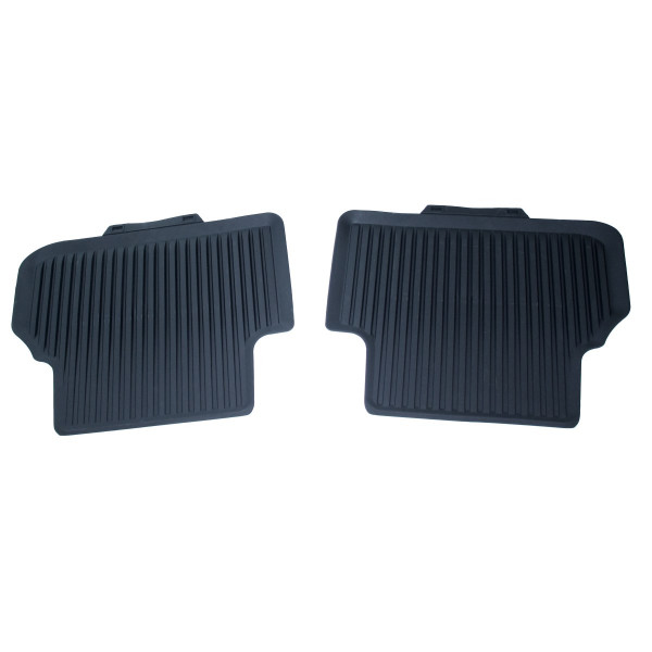 Original Audi A4 A5 (B9) Allwettermatten Premium Gummi Fußmatten Gummimatten hinten