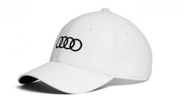 Baseballkappe Basecap weiss Original Audi Sport Cap unisex