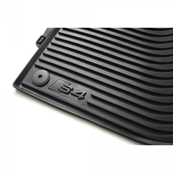 Audi S4 8K B8 Gummifußmatten vorn Original Gummi Fußmatten 2-teilig