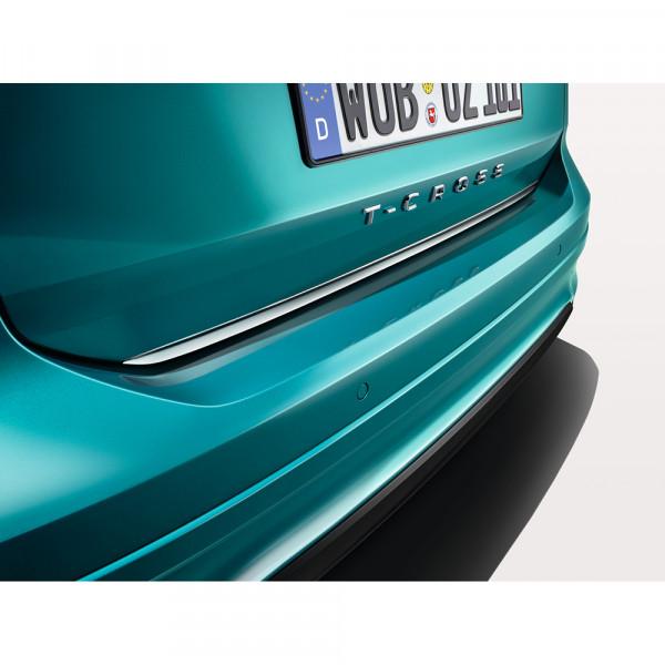 Original VW T-Cross chrom Schutzleiste für Heckklappe Zierleiste Kantenschutz