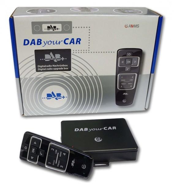 DAB+ Nachrüstsatz Radio Original VW Digitalradio Fernbedienung Funk universal