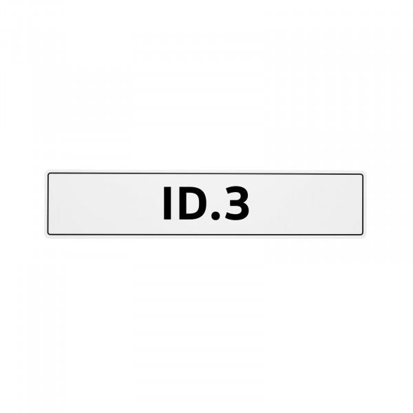 Original VW Kennzeichenschild ID.3 Nummernschild Kennzeichen Typenschild 10A071801