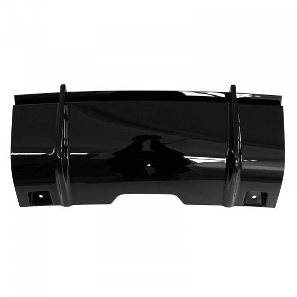 Original Audi RS6 (4G) Verschlussdeckel mitte für AHK Anhänger Abdeckung schwarz hochglänzend