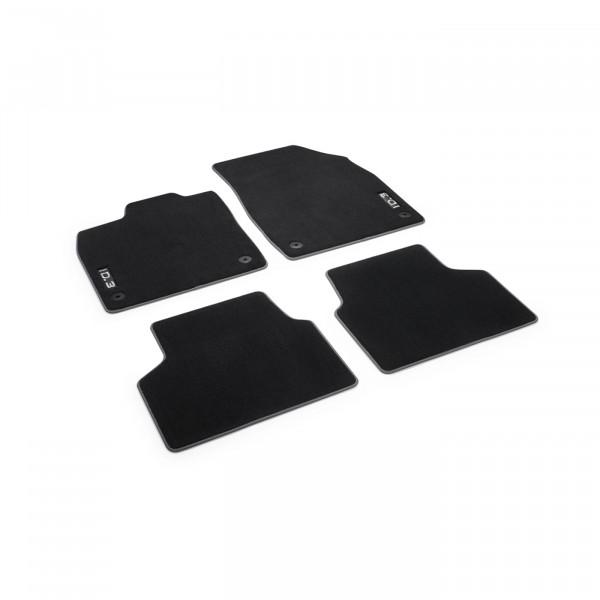 Original VW ID.3 Fußmatten Premium Textilfußmatten 4x Stoffmatten schwarz 10B061270WGK