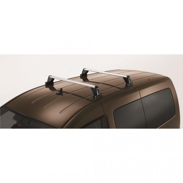 Grundträger Tragstäbe Original VW Caddy Dachgepäckträger ohne Dachreling T-Nut