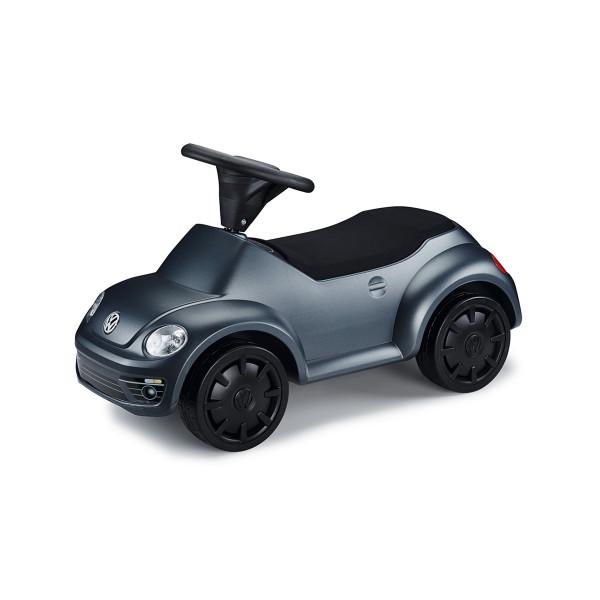 Original VW Kinderfahrzeug Junior Beetle Bobbycar Rutschauto Rutscher Anthrazit