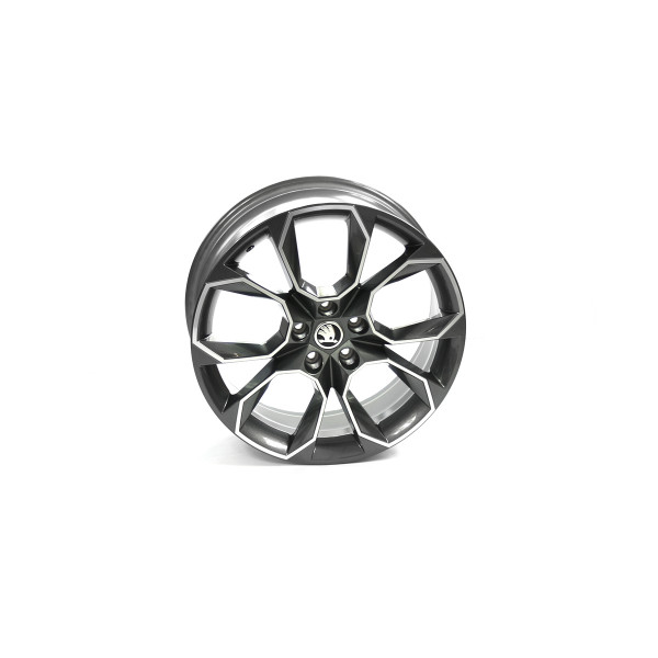Original Skoda RS Aluminiumfelge 19 Zoll Tuning Sport X-trem Felge Leichtmetallfelge