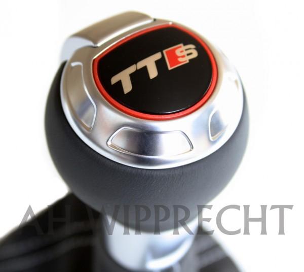 Original Audi TTS Design Schaltknauf TTRS 8J ALU Knauf S-Line S-Tronic