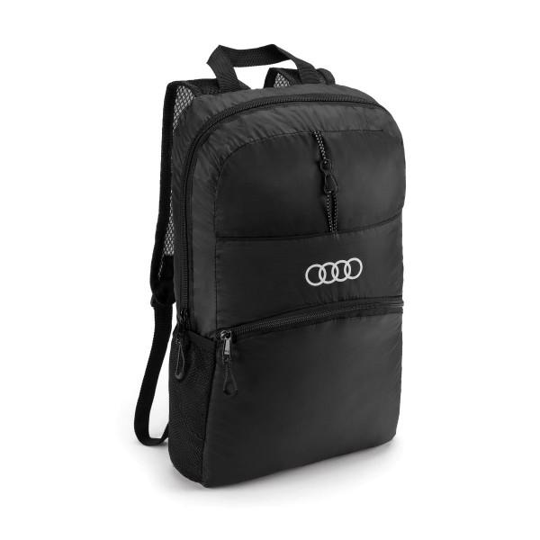 Original Audi Sport Rucksack schwarz faltbar 3151901700