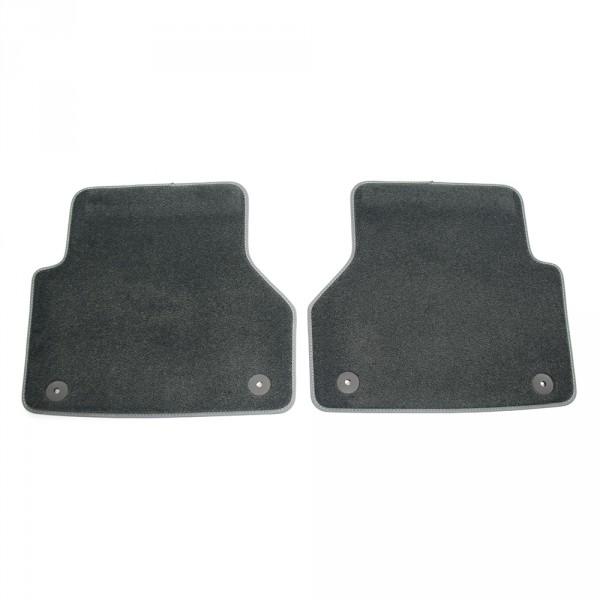 Original Audi A6 A7 (C8) Premium Textilfußmatten hinten Velours Matten schwarz