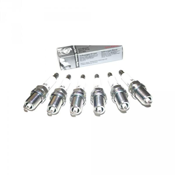 "Original Audi ""LongeLife"" Zündkerzen Set Benziner 6 Zylinder 101905611A"