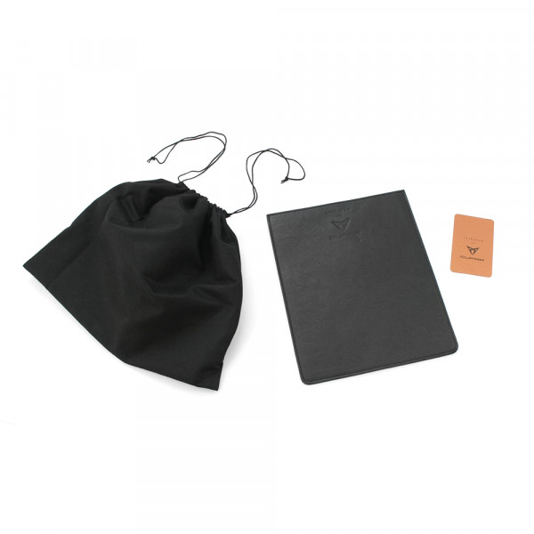 Original Seat Cupra iPad-Hülle Trakatan Leder Tablet Schutzhülle Case Cover schwarz