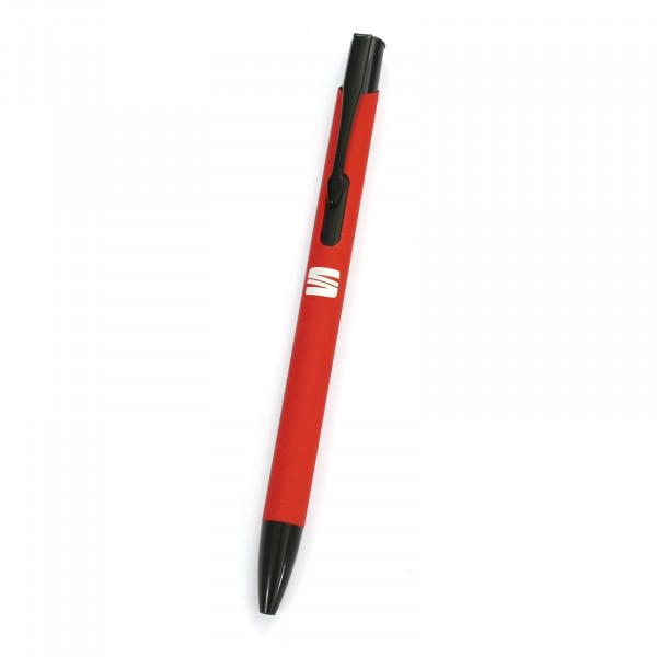 Original Seat Kugelschreiber Softtouch Stift Logo rot Accessoires 6H2087210KAD