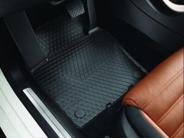 Original Volkswagen CC Gummi Fußmatten Premium Gummimatten 4-teilig v+h