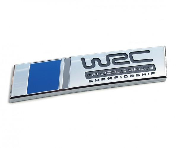 Original VW Polo WRC Schriftzug hinten Heckklappe Emblem Tuning Logo chromglanz