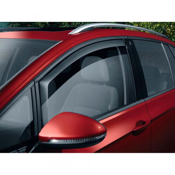 Original VW Golf Sportsvan Tür Windabweiser vorn Acrylglas Windschutz 510072193A