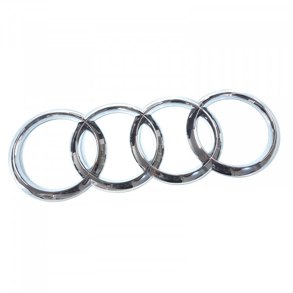 Original Audi A6 S6 RS6 Limousine Ringe Logo Zeichen Heckklappe Emblem chrom 4G58537422ZZ