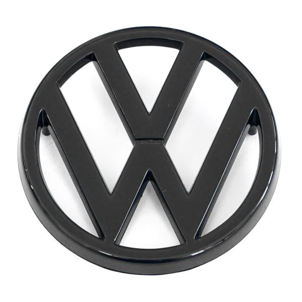 Original VW Golf 1 GTI VW Zeichen vorn schwarz Kühlergrill Logo 171853601041