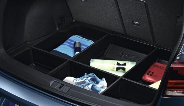 Kofferraumwanne Gepäckraumwanne Trennelemente Golf 7 (5G) Original VW Schutzwanne 5G0061162
