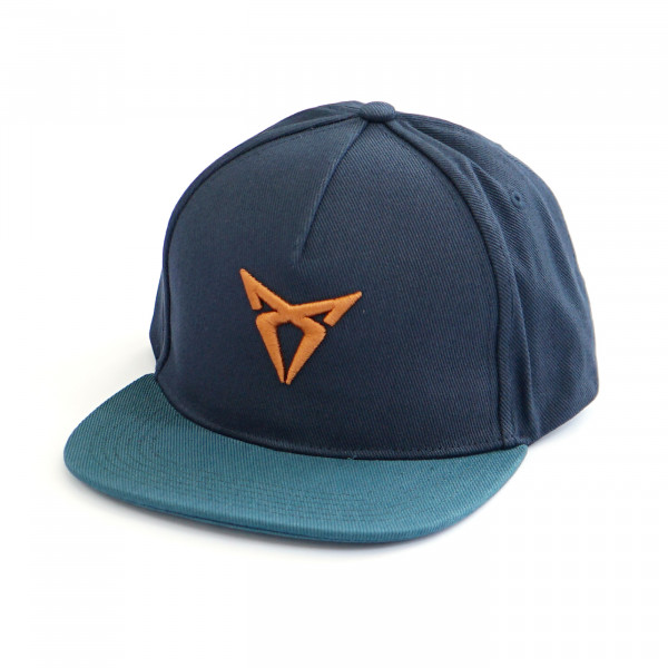 Original CUPRA Basecap verstellbar Baseballcap Mütze Cap Petrol Blau 6H1084300IBJ