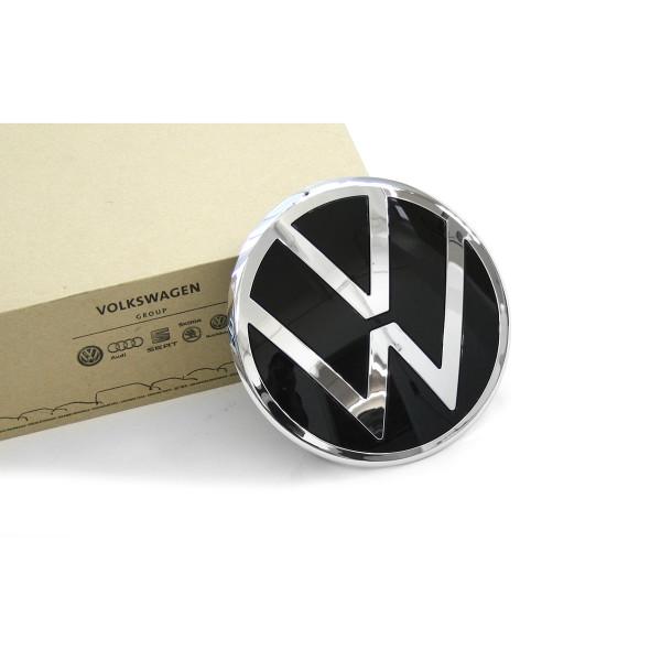 Original VW Emblem vorn Kühlergrill Zeichen New Volkswagen Logo chrom