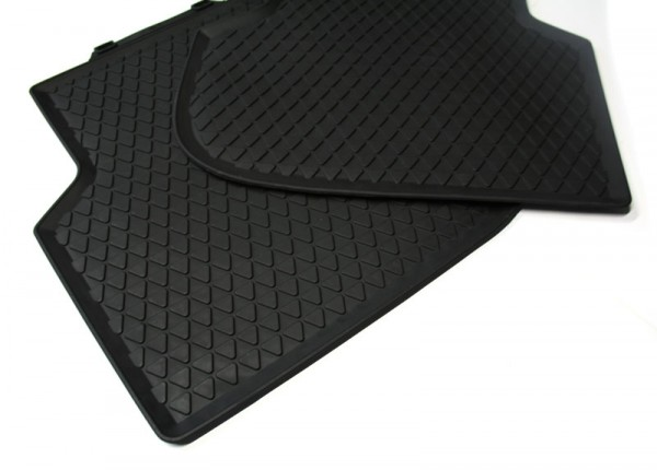 Gummi Fußmatten hinten VW Jetta Original VW Allwettermatten schwarz