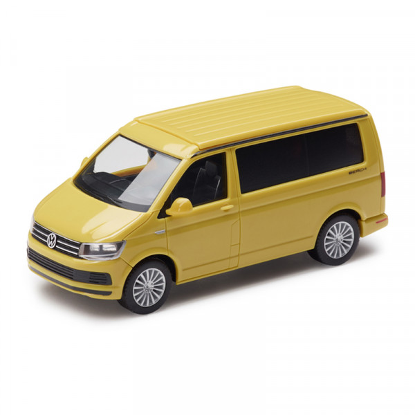 Original VW T6 California Modellauto 1:87 Grape Yellow Miniatur Modell 7E5099301CL1S