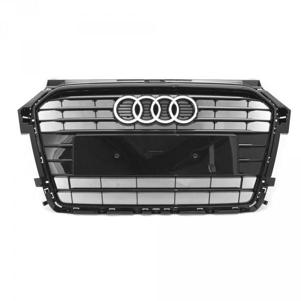 Original Audi A1 (8X) Facelift S-Line Kühlergrill Tuning Grill schwarz glänzend