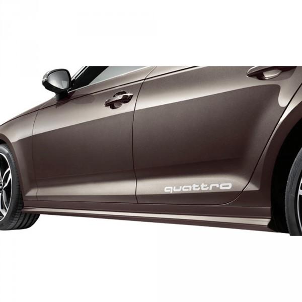 Audi A4 8W Seitenschweller Satz Original Tuning Exterieur Verkleidung Schweller