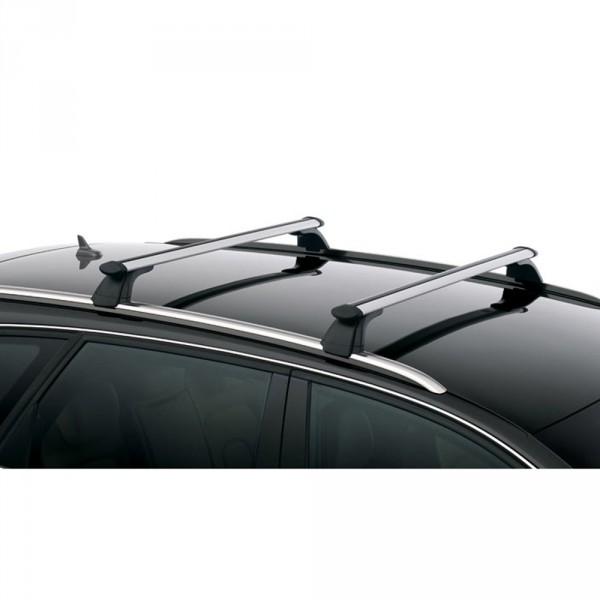 Audi Q5 Grundträger Original Dach Träger Dachreling Transport T-Nut