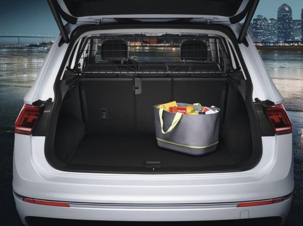 Original VW Tiguan II MQB Trenngitter Hundeschutzgitter Kofferraum 5NA017221