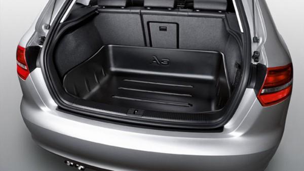 Gepäckraumwanne Original Audi A3 Sportback Quattro Wanne Kofferraum Schutz