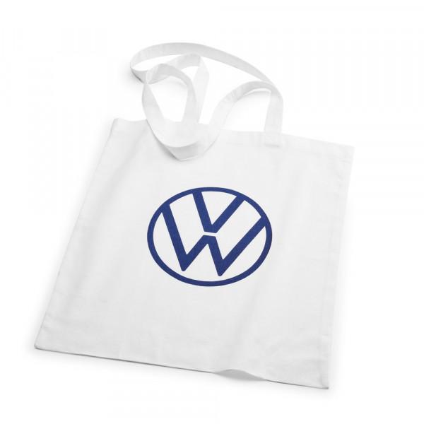 Original Volkswagen Tragetasche Beutel Einkaufstasche Tasche Stoff VW Logo 000087317BF