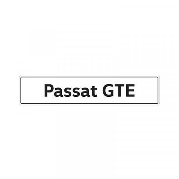 Original VW Kennzeichenschild Passat GTE Nummernschild Kennzeichen Typenschild 3G5071801