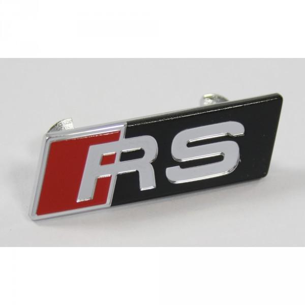 Original Audi RS Plakette Sportlenkrad Clip Multifunktionslenkrad Emblem