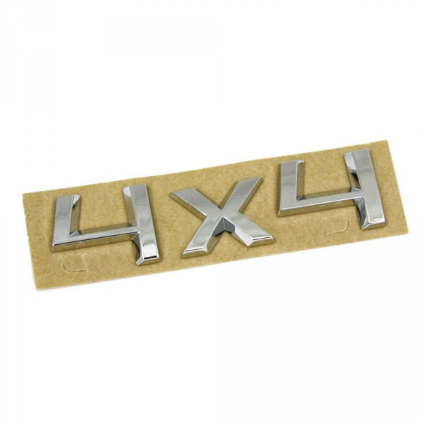 Original Skoda 4X4 Schriftzug Heckklappe hinten Emblem Logo Zeichen chrom
