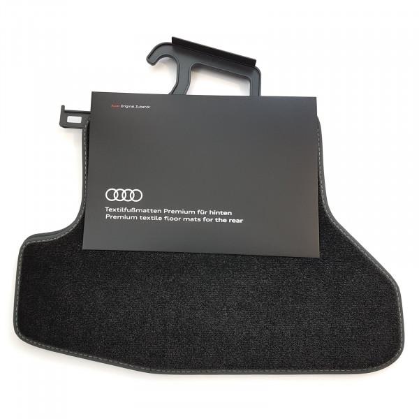 Original Audi A5 (B9) Coupé Premium Velours Fußmatten Stoffmatten Textilfußmatten hinten