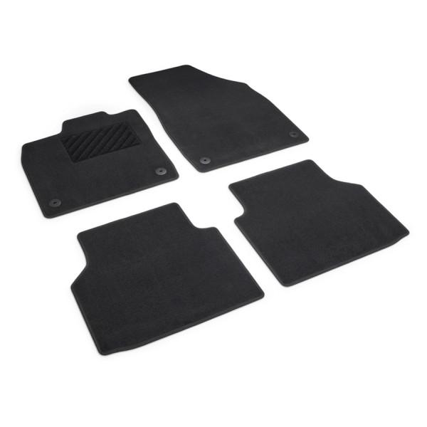 Original VW ID.4 Textilfußmatten Plus Stoffmatten Fußmatten Velours Matten 11B061404WGK