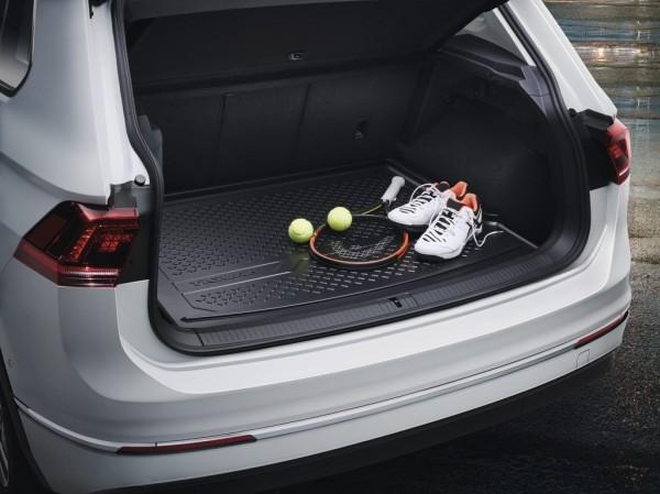 Original VW Tiguan Kofferraumschale Gepäckraumschale 5NA061161 variabler Ladeboden