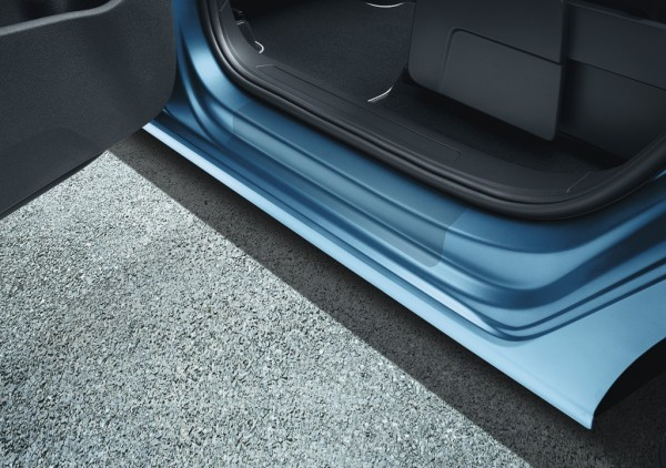 Schutzfolie Einstiegsleisten Original VW Touran transparent hinten 2-teilig 5TA071310A908