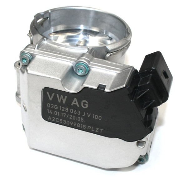 Drosselklappensteuereinheit Abgasrückführung Original Audi VW Ventil Abgasreinigung
