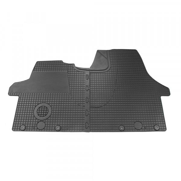 Original VW T5 T6 Gummifußmatten Plus vorn Fußmatten Allwettermatten schwarz
