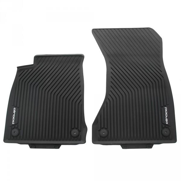 Allwettermatten Gummimatten 2x vorn Original Audi A4 Allroad Quattro Gummi Fußmatten