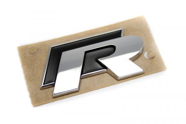 R Schriftzug Aufkleber Plakette Vw Golf Polo Scirocco