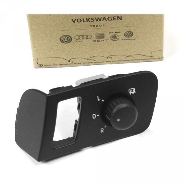 Original VW Caddy (2K) Touran (1T) Schalter für Außenspiegel Türverkleidung schwarz