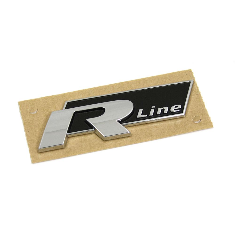 Original Vw R Line Schriftzug Aufkleber Plakette Emblem Karosserie Logo